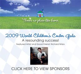 WCC Gala 2009 Save The Date